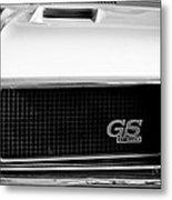 1970 Buick Gs Grille Emblem Metal Print