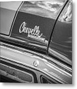 1970 Chevy Chevelle 454 Ss Bw  Metal Print