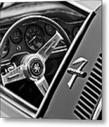 1971 Iso Grifo Can Am Steering Wheel Emblem Metal Print