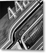 1971 Oldsmobile 442 Taillight Emblem Metal Print