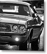 1972 Dodge Challenger Metal Print