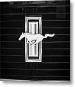 1972 Ford Mustang Boss 302 Grille Emblem Metal Print