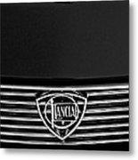 1972 Lancia Fulvia 1.3s S2 Grille Emblem Metal Print