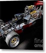 1974 Lola T332  F5000 Race Car V8 5 Litre Chassis Metal Print
