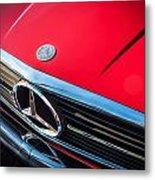 1984 Mercedes 500 Sl Convertible Metal Print