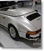 1987 Porsche 911 Carrera 3.2 Speedster Studie Metal Print