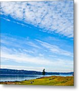 #2 At Chambers Bay Golf Course - Location Of The 2015 U.s. Open Tournament Metal Print