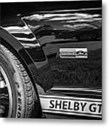 2007 Ford Mustang Shelby Gt500 Painted Bw  Metal Print