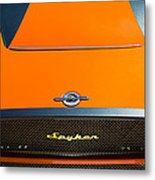 2009 Spyker C8 Laviolette Lm85 Grille Emblem Metal Print by Jill Reger
