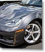 2010 Chevy Corvette Grand Sport Metal Print