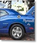 2010 Plymouth Superbird  Metal Print