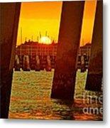 2013 First Sunset Under North Bridge 3 Metal Print