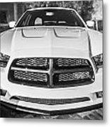 2014 Dodge Charger Rt Painted Bw Metal Print