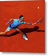 2015 French Open - Day Nine Metal Print
