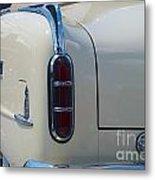 52 Packard Convertible Tail Metal Print