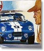 64 Cobra Daytona Coupe Metal Print
