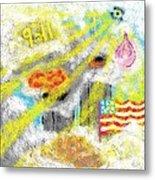9-11 Metal Print by Joe Dillon