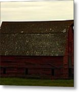 A Barn In Saskatchewan Metal Print