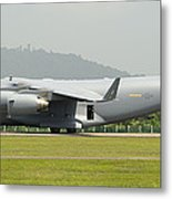 A C-17 Globemaster IIi Of The U.s. Air Metal Print