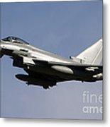 A Eurofighter Typhoon 2000 Multirole Metal Print