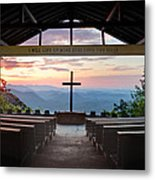 A Good Morning At Pretty Place Metal Print