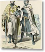 A Grand Master Of The Teutonic  Knights Metal Print