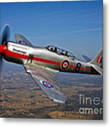 A Hawker Sea Fury T.mk.20 Dreadnought Metal Print