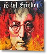 A Man Of Peace And The World Metal Print