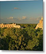 A Panoramic View From Left To Right Metal Print
