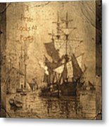 A Pirate Looks At Forty Metal Print by John Stephens