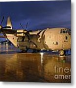 A Royal Air Force C130j Hercules  Metal Print