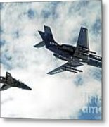 A Royal Air Force Hawk  Metal Print