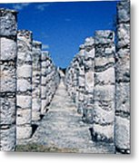 A Thousand Columns Metal Print