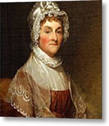 Abigail Smith Adams By Gilbert Stuart Metal Print