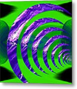 Abstract 123 Metal Print
