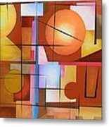 Abstract #3 Metal Print