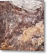 Abstract Tile Background Metal Print