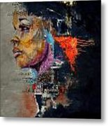 Abstract Women 015 Metal Print