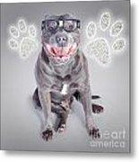 Access To Smart Dog Training Metal Print