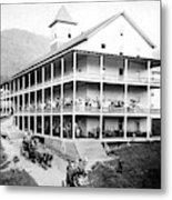 Adirondack Hotel, 1889 Metal Print