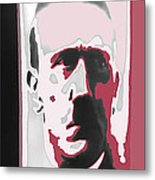Adolph Hitler Collage Close-up Circa 1933-2009 Metal Print