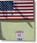 Advertisement On Route 66 In Arizona Metal Print