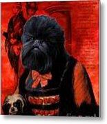 Affenpinscher Art By Nobility Dogs Metal Print