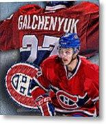 Galchenyuk Phone Cover Metal Print