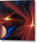 Agamnenon Nebula Metal Print