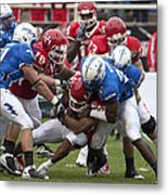 Air Force Versus Houston Metal Print