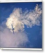 Air Show Selfridge Havilland Super Chipmunk Metal Print