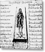 Albrecht Von Wallenstein (1583-1634) Metal Print
