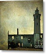 Alcatraz Island Lighthouse Metal Print