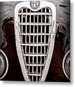 Alfa Romeo Milano Grille Emblem Metal Print